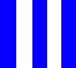 blau/weiss gestreift